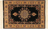 Isfahan silk warp Signed: Davari carpet AXVZC638