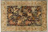 Kashmir pure silk pictorial carpet AXVZH36