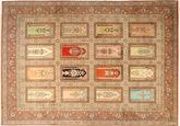 Kashmir pure silk carpet AXVZH4