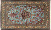 Qum Sherkat Farsh carpet FAZB160