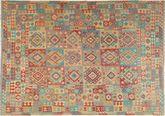 Kilim Afghan Old style carpet XKH33