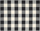 Check Kilim - Black / White