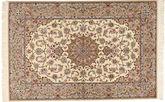 Isfahan Seidenkette Mansori Teppich RXZI38