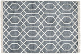 Bamboo silk Vanice - Grey carpet CVD17381