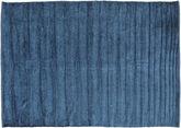 Tapis Kilim Chenille - Bleu nuit CVD17145