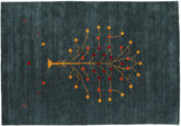 Alfombra Loribaf Loom Designer - Petrol CVD17017
