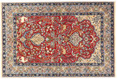 Isfahan silkerenning teppe AXVZZH62