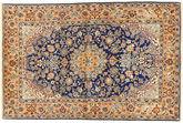 Isfahan silk warp carpet AXVZZH65