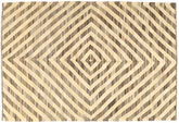 Kilim Afghan Old style carpet AXVZX5534