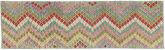 Kilim Afghan Old style carpet AXVZX5713