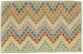 Kilim Afghan Old style carpet AXVZX5729