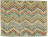 Kilim Afghan Old style carpet AXVZX5744