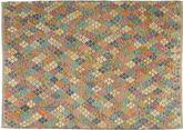 Kilim Afghan Old style carpet AXVZX5856