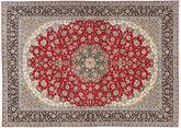 Isfahan silk warp carpet TBZZZI139
