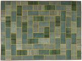 Kilim Patchwork carpet TBZZZI313