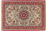 Isfahan silk warp carpet TBZZZI143
