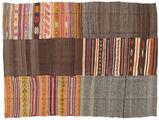 Kilim Patchwork carpet BHKZR81