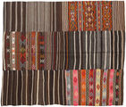 Kilim Patchwork carpet BHKZS160