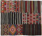 Kilim Patchwork carpet BHKZS157