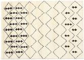 Berber Indisk - Off-Vit / Svart