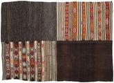 Kilim Patchwork carpet BHKZR46