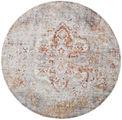 Megrez - Világos Szürke / Rozsdaszín szőnyeg RVD19456