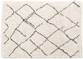 Shaggy Agadir - Off-White / Dark Grey rug CVD19367