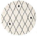 Shaggy Zanjan - Off-White / Dark Grey rug CVD19585