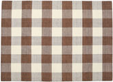 Check Kilim - Brown / White