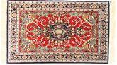 Tappeto Isfahan ordito in seta AXVZZZL289