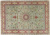 Tabriz#70 Raj silk warp carpet AXVZZZL775