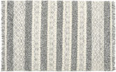 Kilim Berber Ibiza - Black and White Mix carpet CVD19395