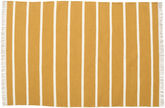 Dhurrie Stripe - Jaune Moutarde