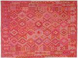 Kilim Afghan Old style carpet ABCZA31