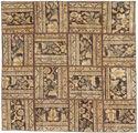 Patchwork carpet AXVZZZO928