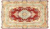 Tabriz#70 Raj silkerenning teppe AXVZZZY12