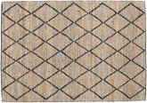 Serena Jute - Natural / Black carpet CVD20274