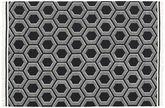 Koberec Opti - Černá / White CVD20316