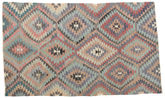 Kilim semi antique Turkish carpet RXZO343