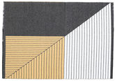 Diagonal - Negru / Yellow
