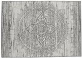 Mandala - Donkergrijs / Beige tapijt RVD20623