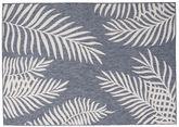 Jungle - Donkerblauw / Beige tapijt RVD20571