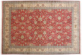 Kashmir pure silk carpet MSC136