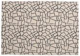 Terrazzo - ベージュ / 黒 絨毯 CVD21796