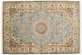 Kashmir pure silk carpet MSC97
