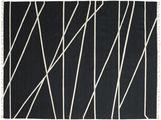 Cross Lines - Zwart / Gebroken wit