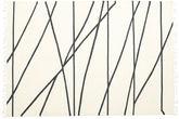 Cross Lines - Gebroken wit / Zwart