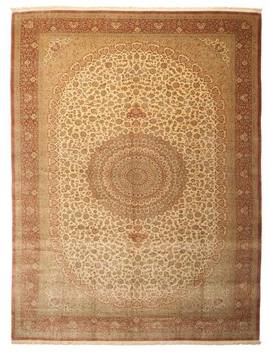 Qum silk signed: Shirazi carpet VAC18