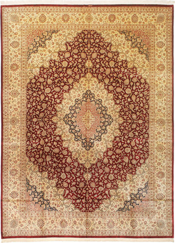 Qum silk signed: Nezafat carpet VAC58