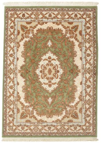 Tabriz 60 Raj silkerenning teppe VAC96